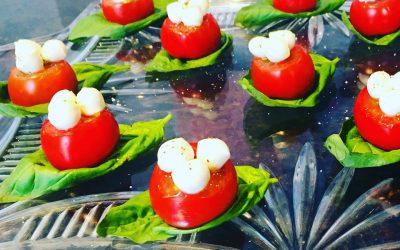 Cherry Tomatoe Caprese Bites