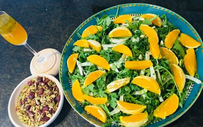 Oranges, Fennel and Arugula Salad
