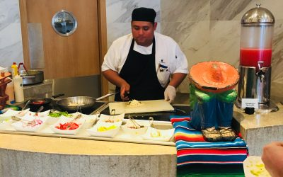 Let's Gossip with Chef Cesar at the JW Marriott Cancun