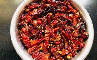 Spiciest Indian Chutney (Kolhapuri Thecha) by Mamta Runwal