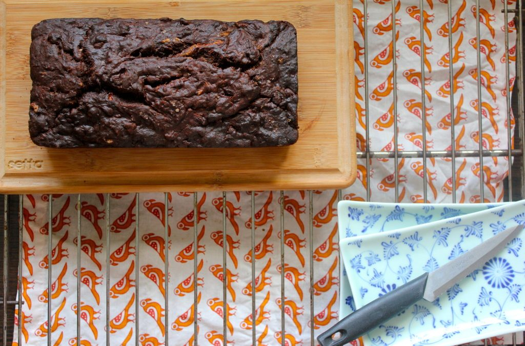 Double Chocolate Banana Bread by Puja Shah