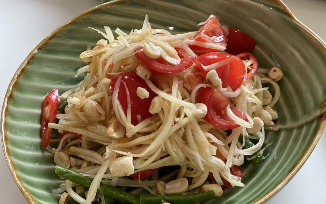 Som Tam (Raw Papaya Salad)