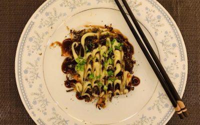 Japanese Okonomiyaki by Akhil Ambani