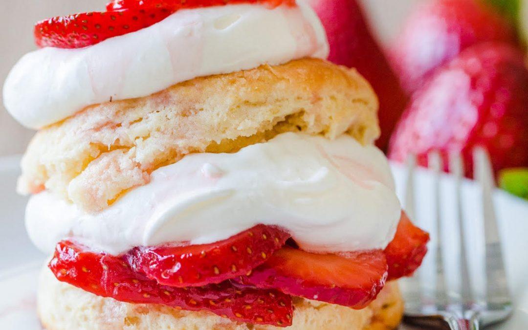 Summer Fruit Shortcake Scones by Shivangi Surana