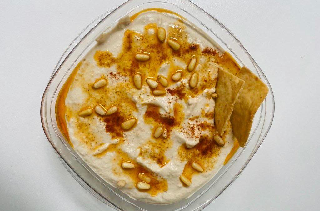 Soybean Hummus by Kavita Mookim