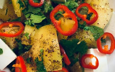 Herby Tomato Salad by Sneha Singhvi